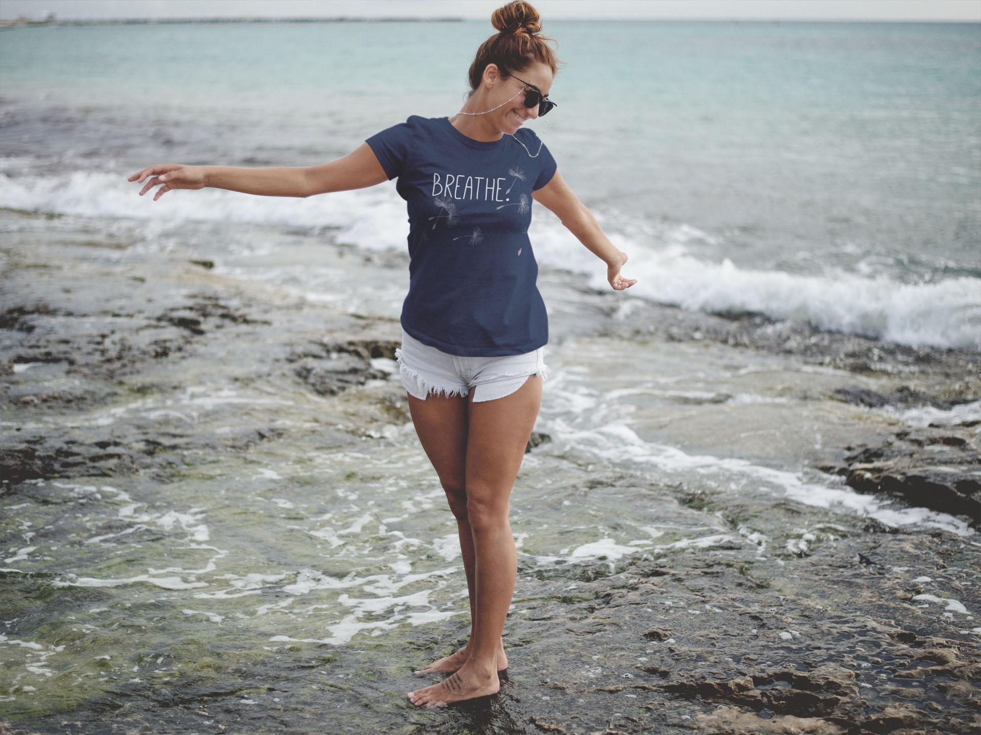 Breathe Shirt von meinem Label  Yoganic Lifewear
