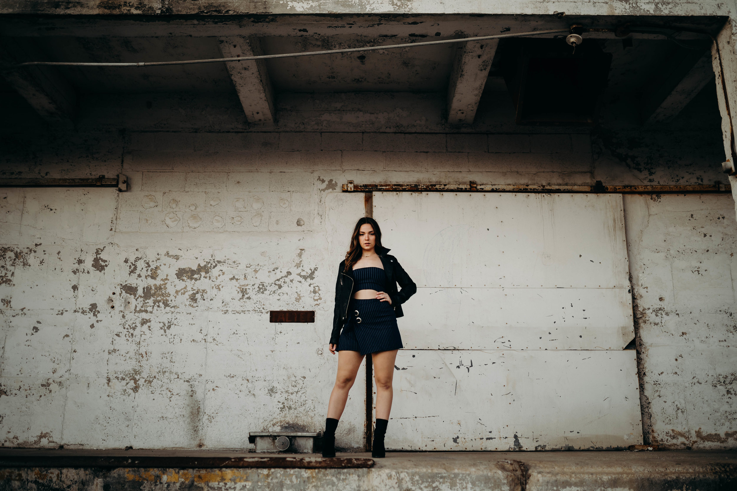 Matching Top and Wrap Skirt - Sarah Gorden  Jacket - Vintage