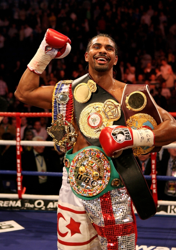 David unifies WBA, WBC, WBO and Ring Magazine World Cruiserweight Titles in 2008.