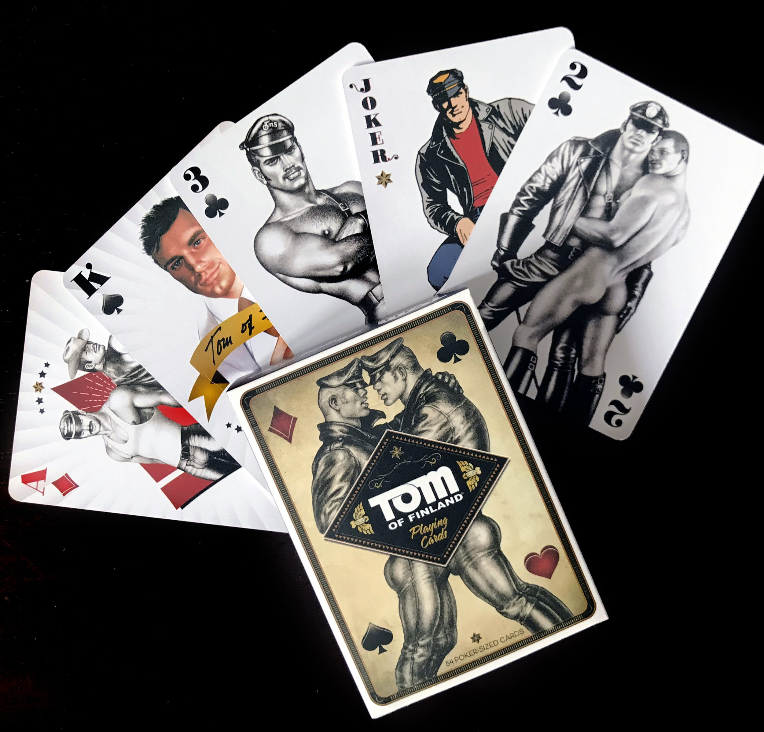 Tom of finland playing cards leather pants.JPG