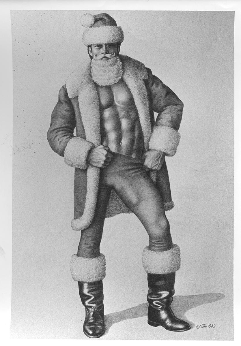 Tom of Finland's Santa