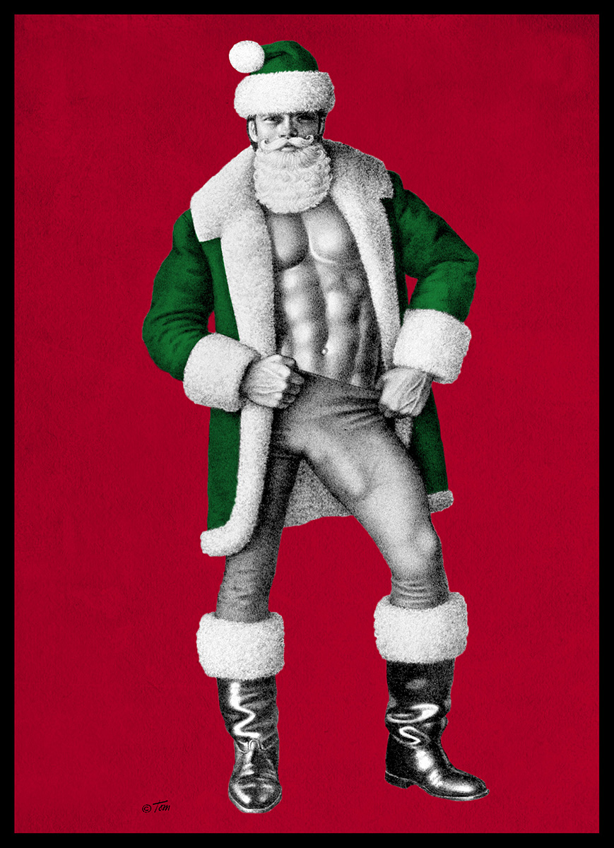 Tom of Finland in color