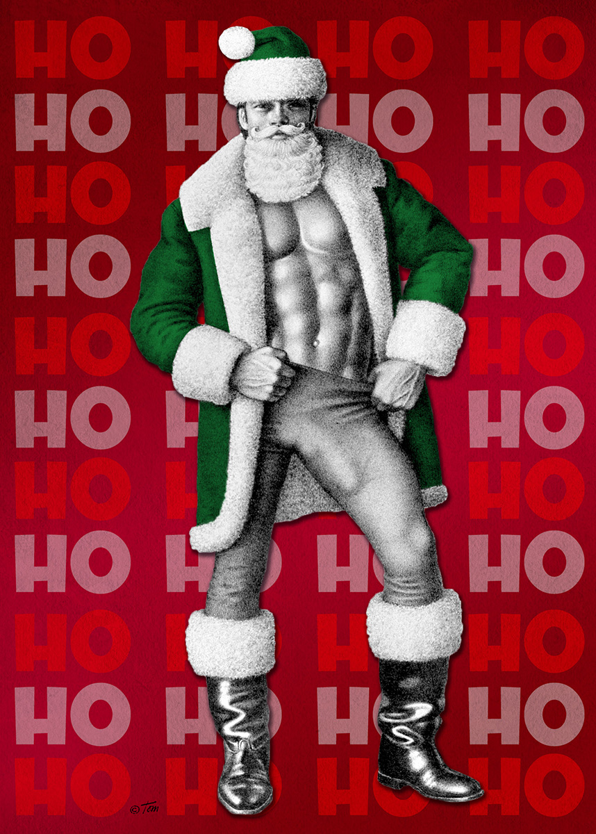 Tom of Finland Holiday Card