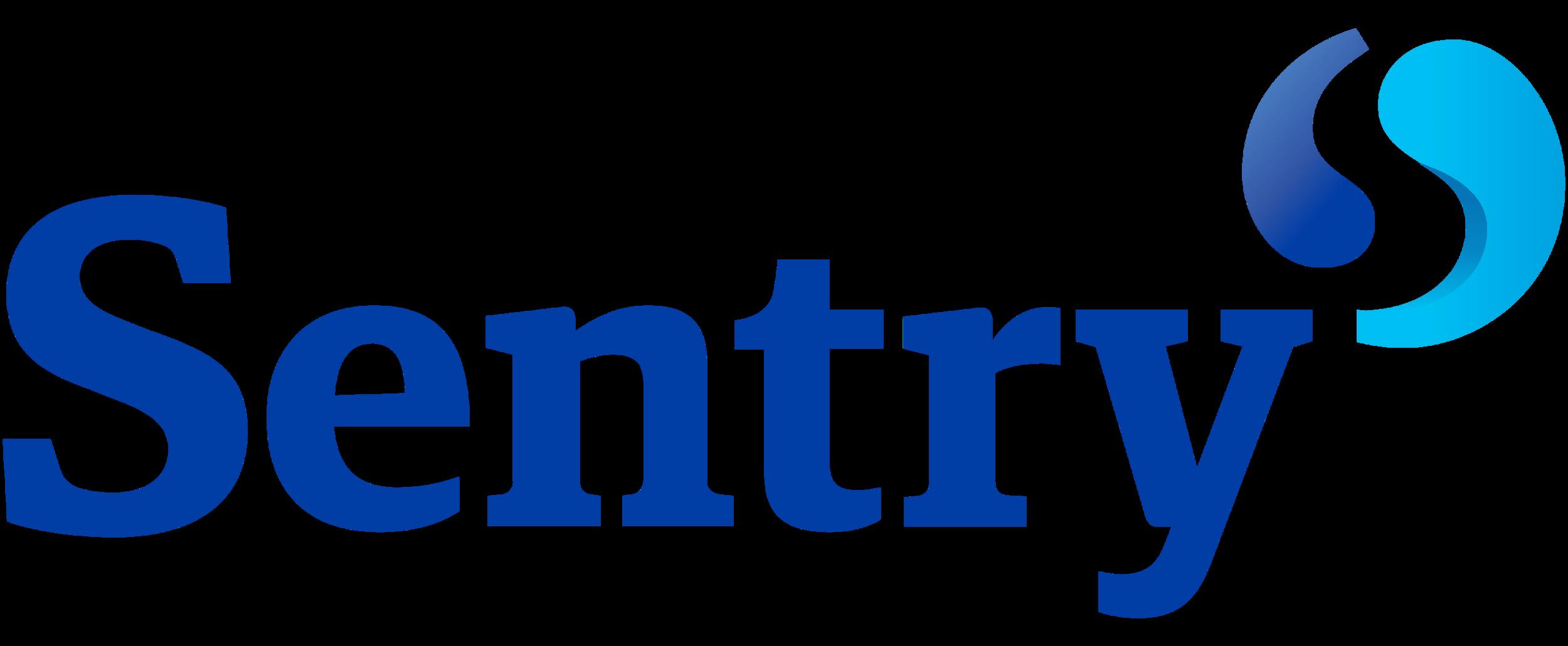 Login at  sentry.com