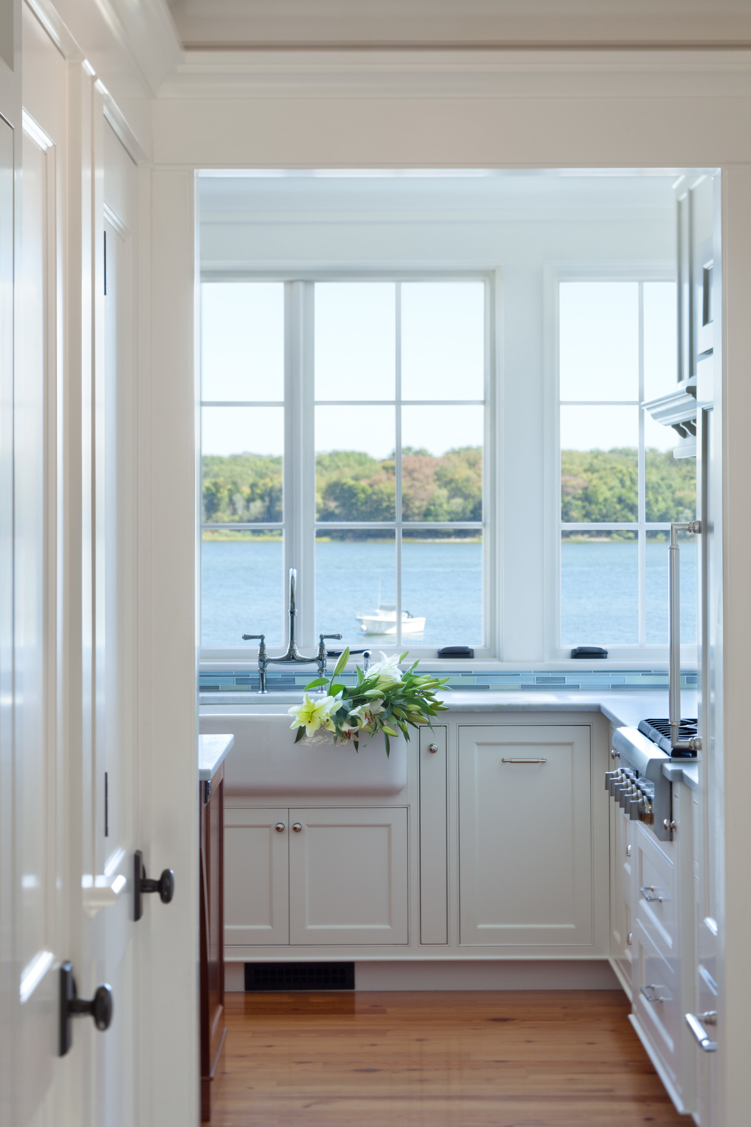 Jacob Talbot Builders - kitchen with a view
