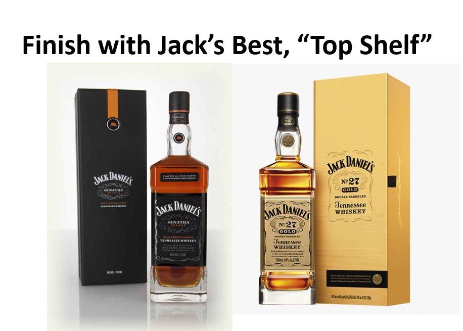 Jack Daniel's Top Shelf Whiskies