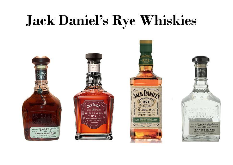 Jack Daniel's Four Rye Whiskies