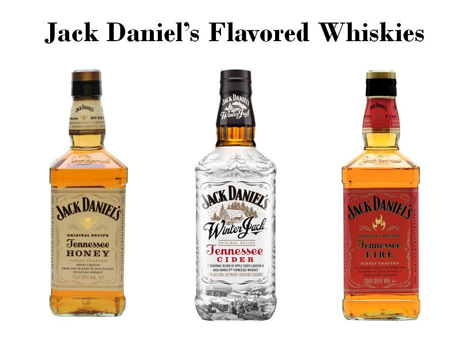 Jack Daniel's Flavored Whiskies