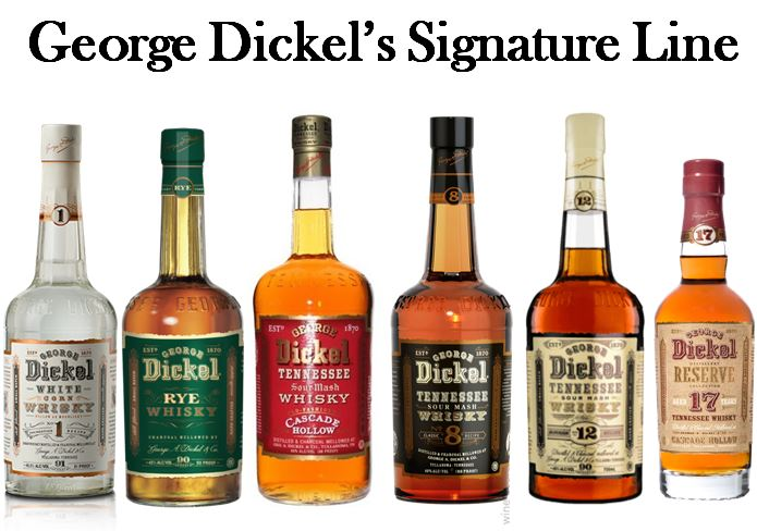 George Dickel's Signature Line