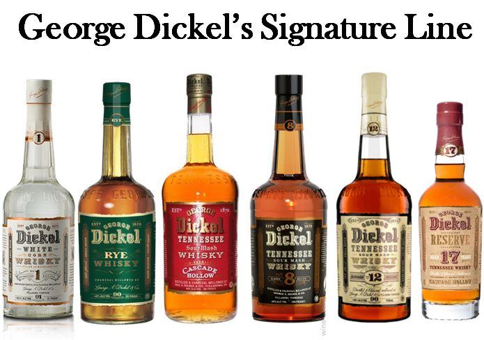 George Dickel's Signature Line