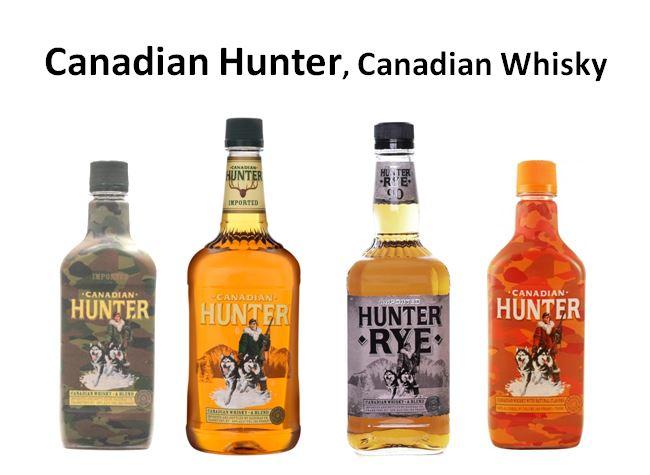 Canadian Hunter Canadian Whisky
