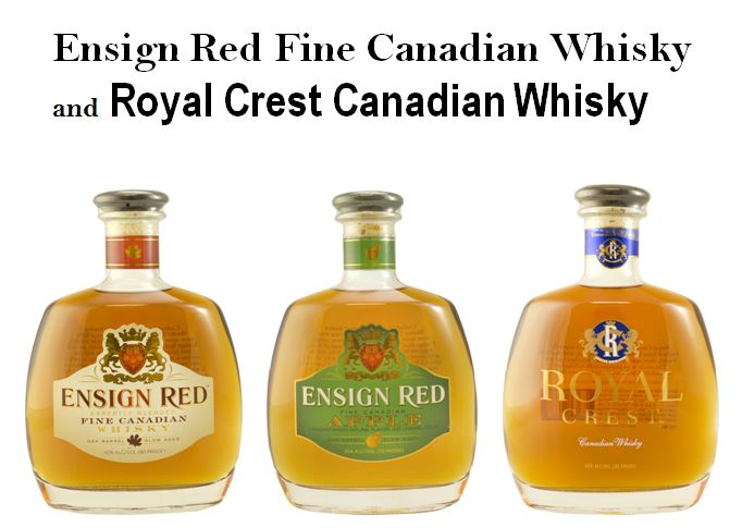 Ensign Red & Royal Crest