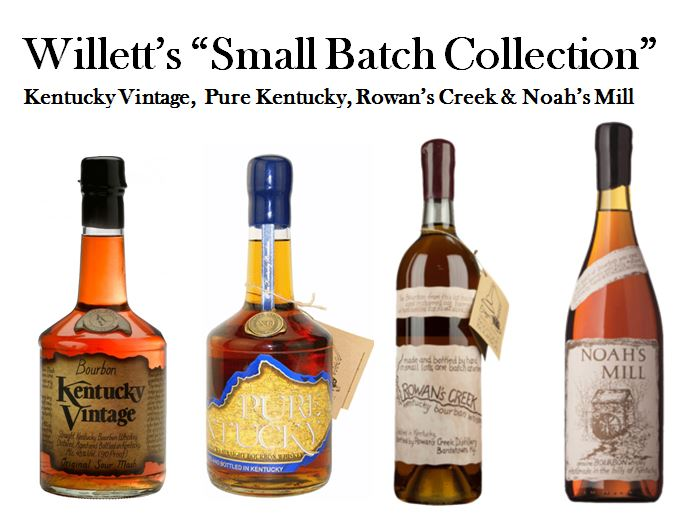 Willett's Small Batch Collection