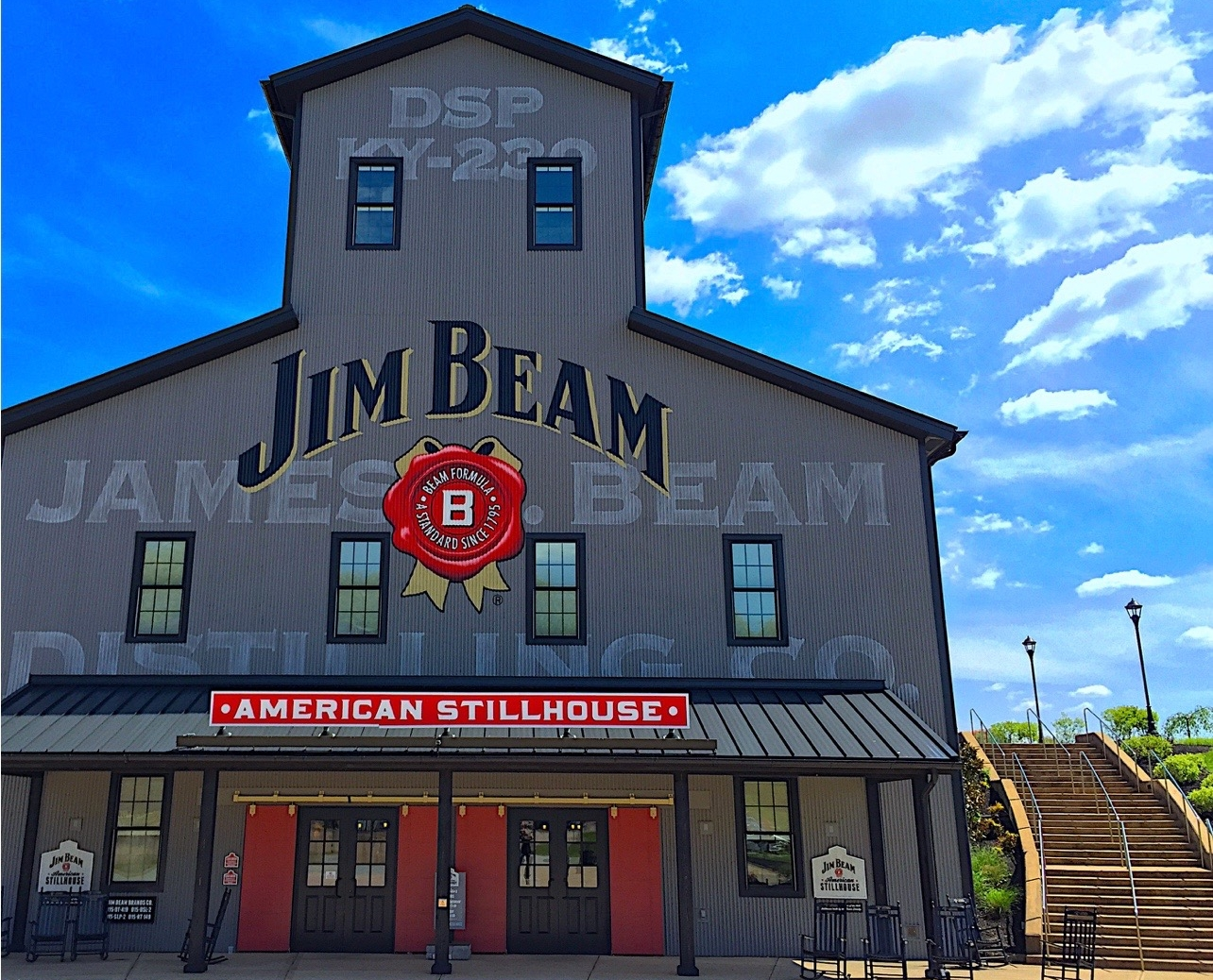 Jim Beam's American Stillhouse   opened for Tours in 2014 in Clermont, Kentucky and instantly became one of Central Kentucky's leading attractions.