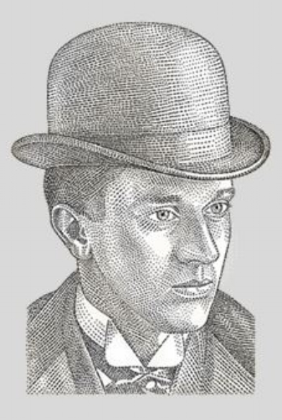 Sketch Photo of Albert Blanton, provided by Buffalo Trace web site