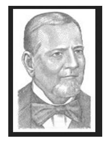 Sketch Photo of CWilliam Larue Weller provided by Buffalo Trace web site