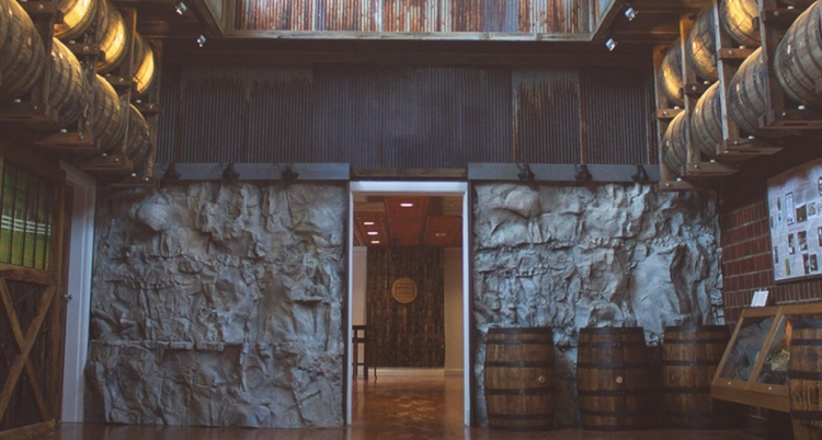The 9,000 square foot   Bulleit Frontier Whiskey Experience at Stitzel Weller   in Shively, Kentucky.