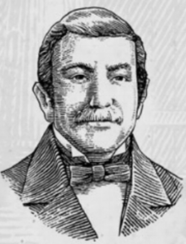 Sketch Photo of David Beam, provided by Jim Beam Brands, Co. web site