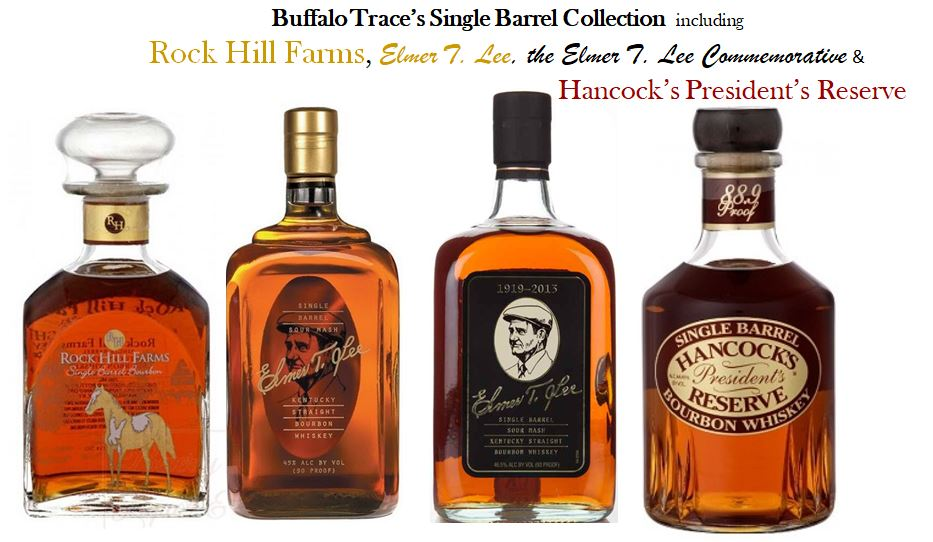 Buffalo Trace's other Single Barrel Bourbons