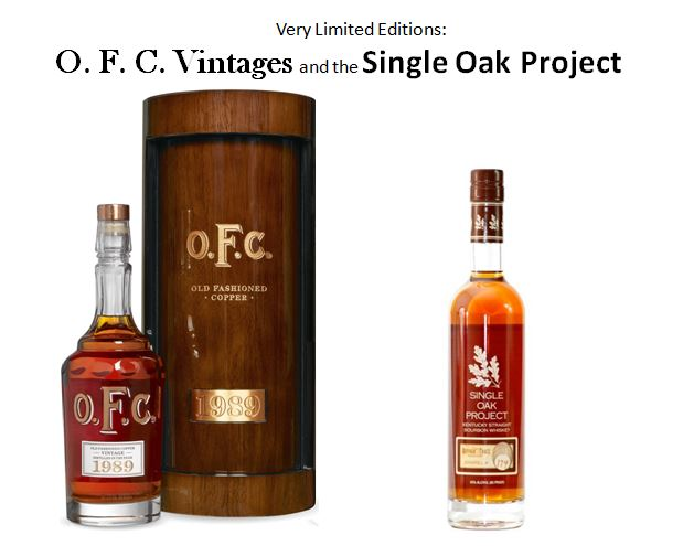 Very Limited Edition Buffalo Trace Bourbons