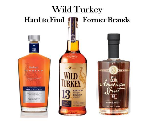Wild Turkey's hard to find brands