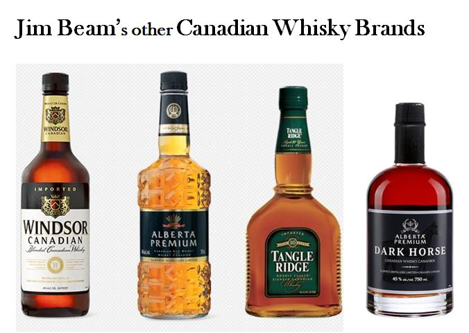 Jim Beam's other Canadian Whisky