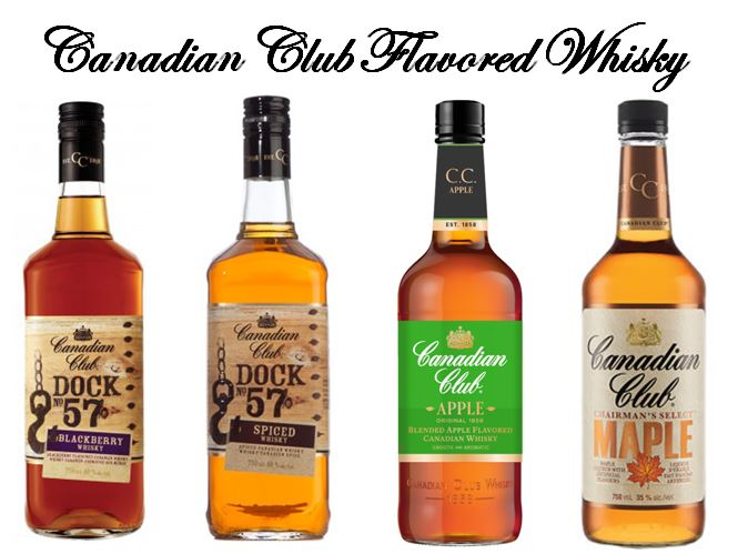 Canadian Club's Flavored Whiskies