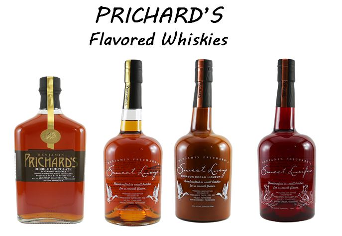 Prichard's line of Whiskey Liqueurs