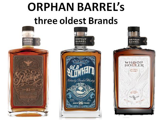 Orphan Barrel's three oldest brands