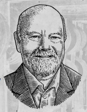 Sketch Photo of Fred Noe, provided by Jim Beam Brands, Co. web site
