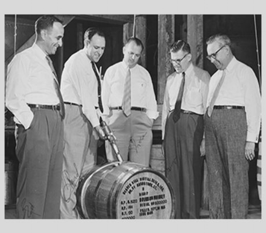 Photo of Shapira Brothers, provided by Heaven Hill web site
