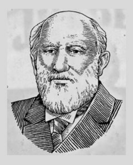 Sketch Photo of David M. Beam, provided by Jim Beam Brands, Co. web site