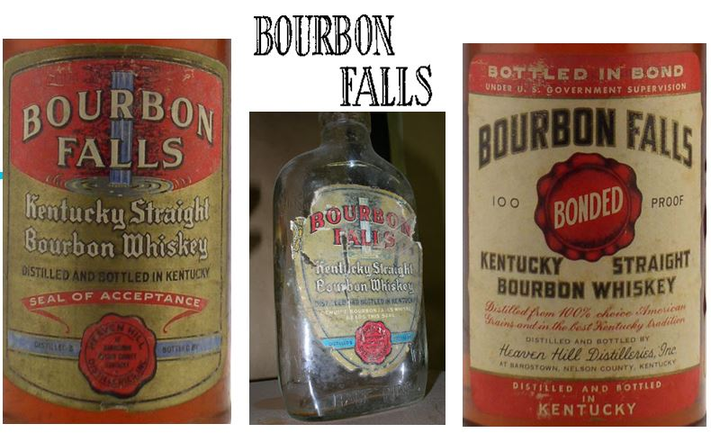Bourbon Falls   was the original brand that was released by Heaven Hill while waiting for most of their inventory to mature.