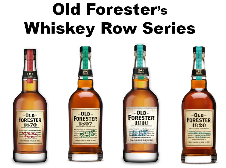 Chris Morris was the driving force behind the creation of   Old Forester's Whiskey Row Series.   This series and several other variations has turned Old Forester into a highly sought after brand. Pictured above from left to right are; 1.)   Old Forester 1870 Original Batch  , 2.)   Old Forester 1897 Bottled-in-Bond  , 3.)   Old Forester 1910 Old Fine Whiskey   and 4.)   Old Forester 1920 Prohibition Style  .