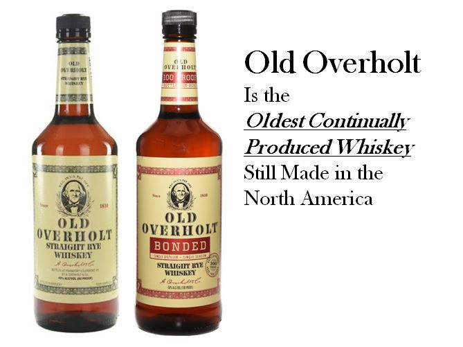 "Old Overholt   dating back to  1810  and the James Madison Administration is the   ""Oldest Continually Produced Whiskey""   still made in North America."
