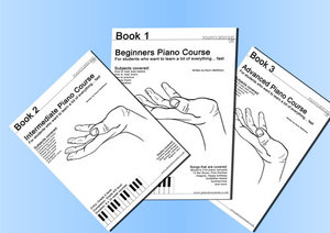 Our piano courses - We have designed a number of unique and fun piano courses that help beginners and experts to learn the songs they love quickly.