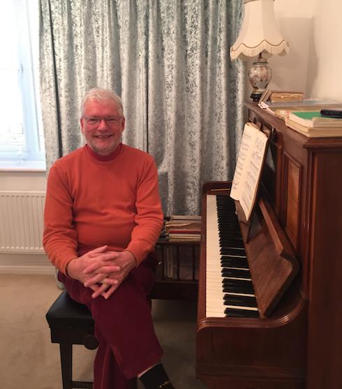 Richard Harris - Our piano teacher in Keynsham