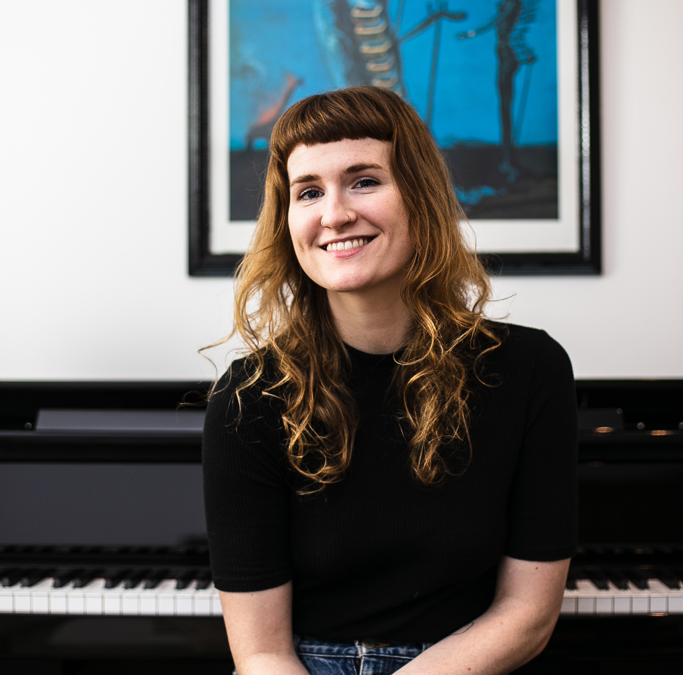 Piano teacher - Hannah - has a lovely piano studio near Seven Dials. She is thoughtful, organised and fantastic to work with. A wonderful person and an excellent piano teacher. We're very lucky to have her with us.