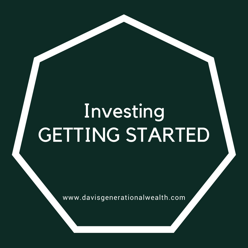 Investing Getting Started