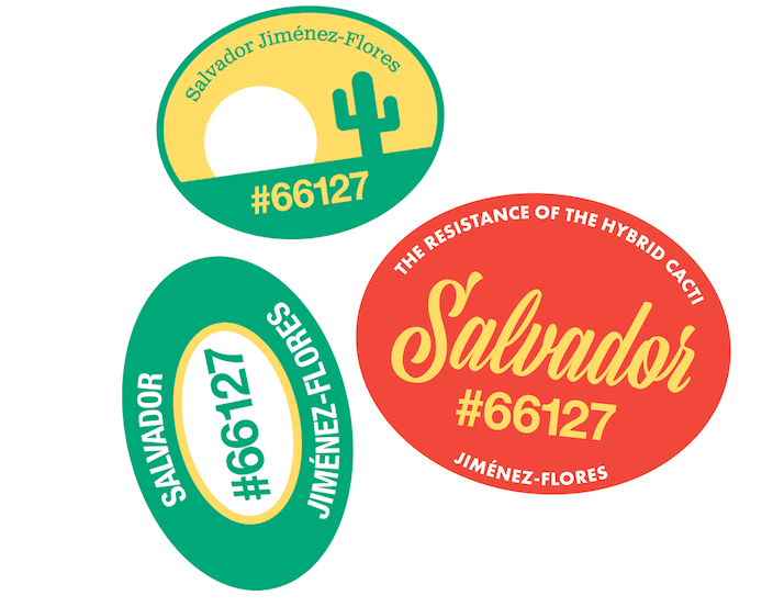 UICA Jiménez-Flores Stickers