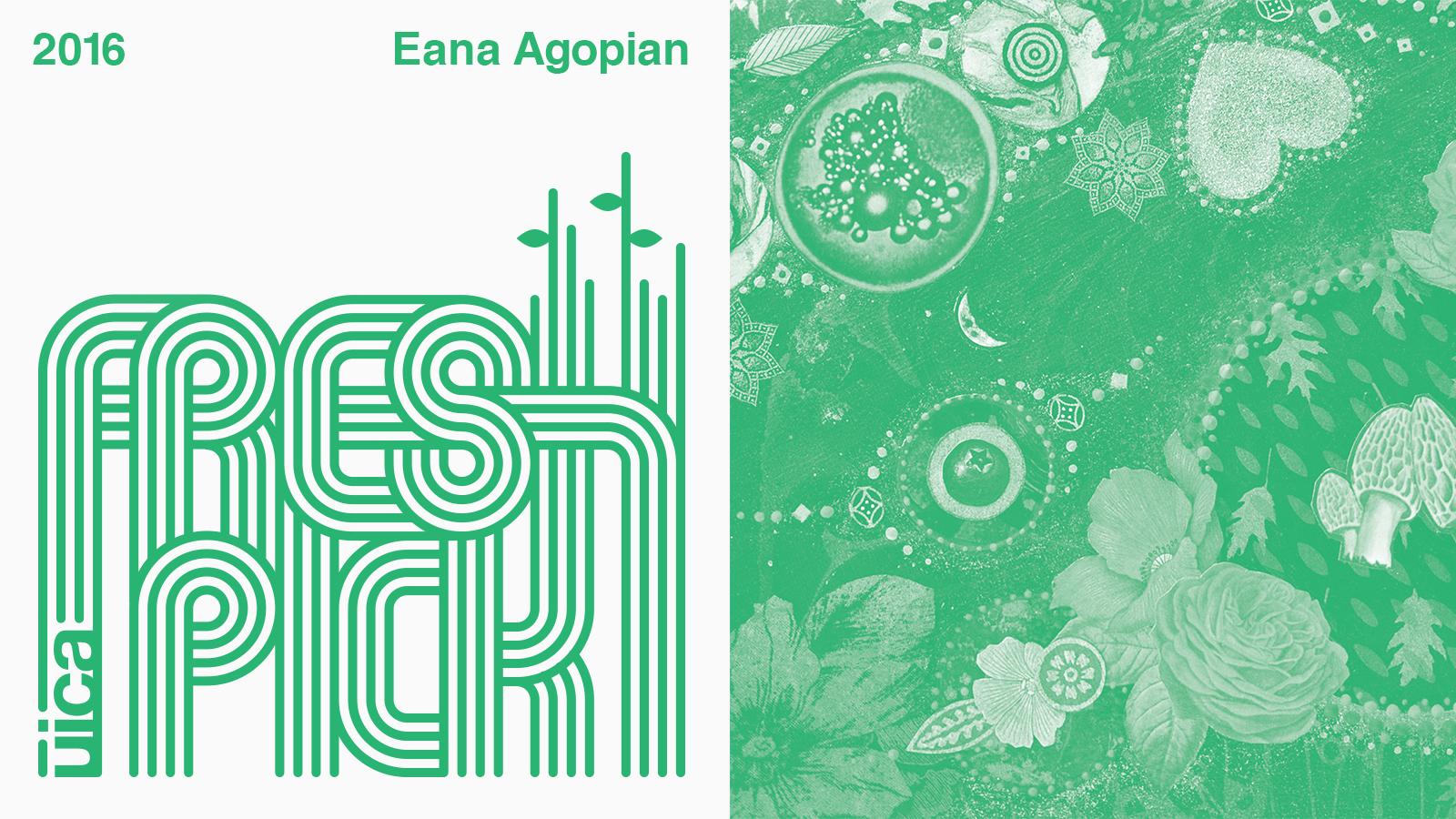 UICA Fresh Pick Exhibition Eana Agopian logo