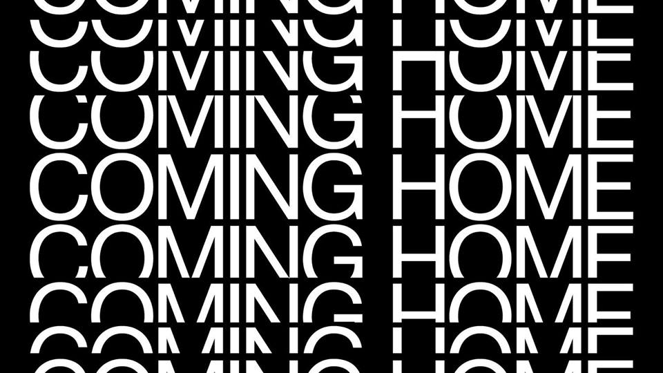 UICA Coming Home Exhibition graphic