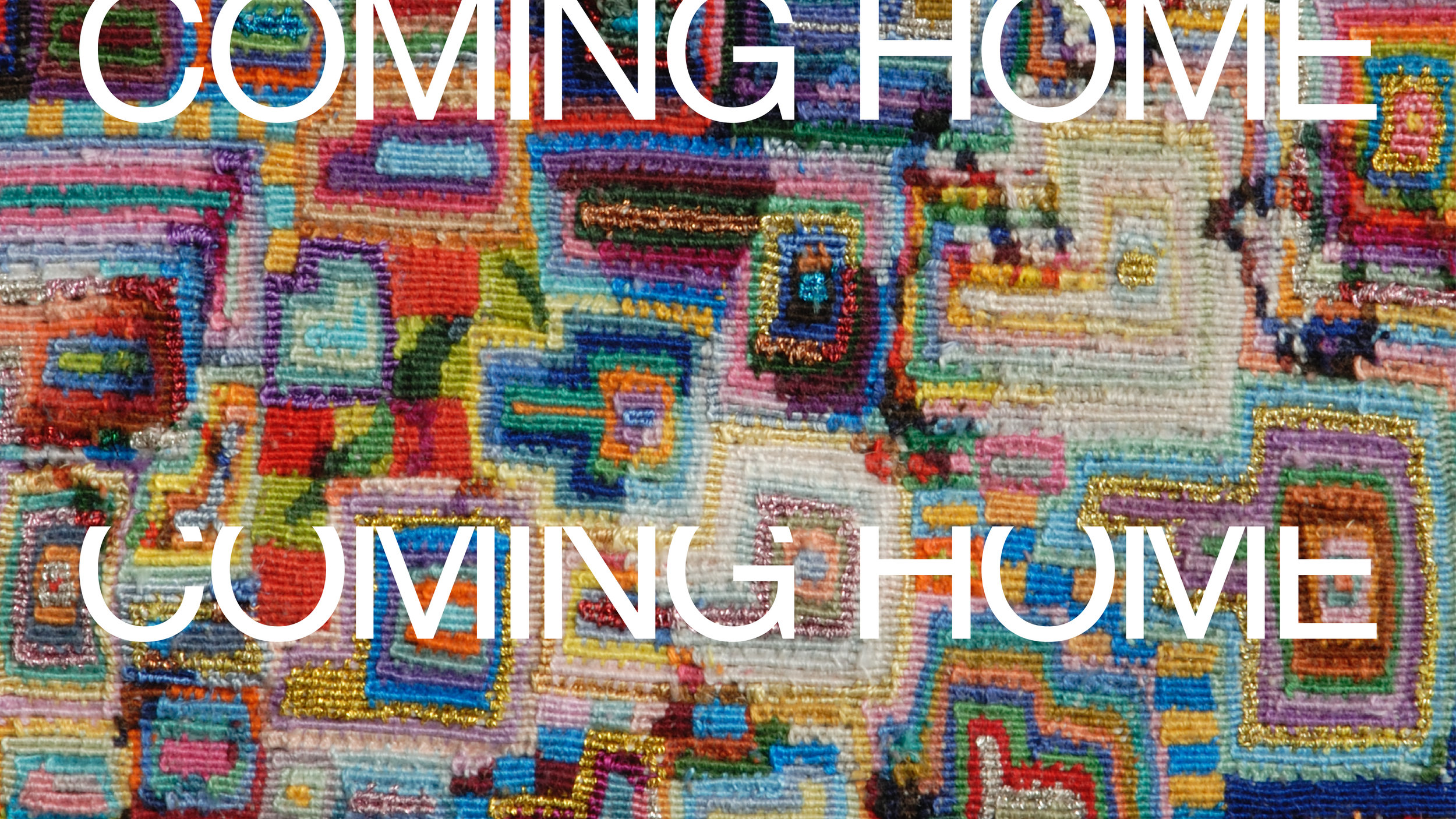 UICA Geary Jones Coming Home graphic