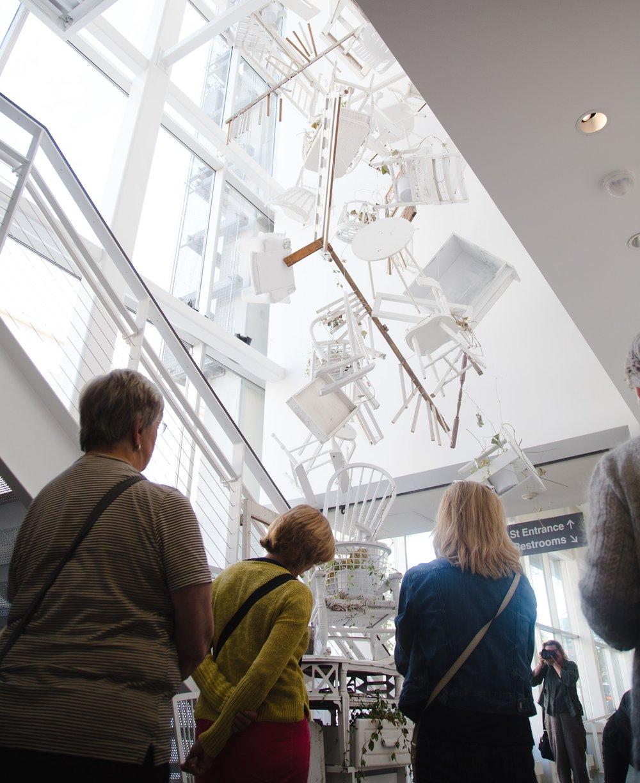 UICA Chandelier Gallery
