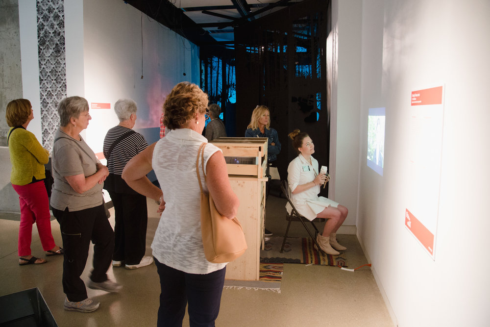 UICA Guests in Gallery