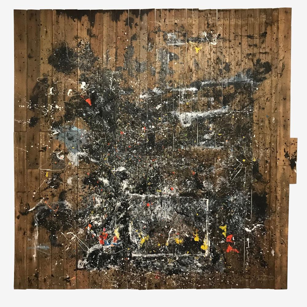 UICA Curt Ikens Pollock Floor Lingua Franca