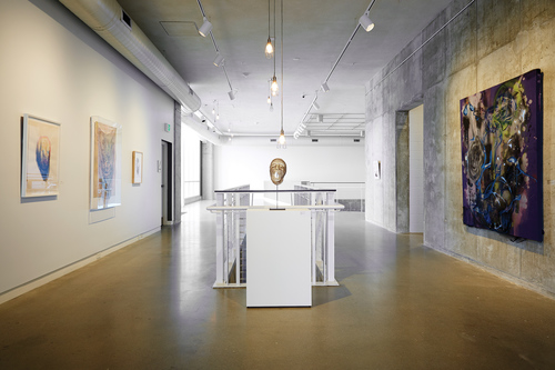 Power Objects: The Future Has a Primitive Heart installation photo