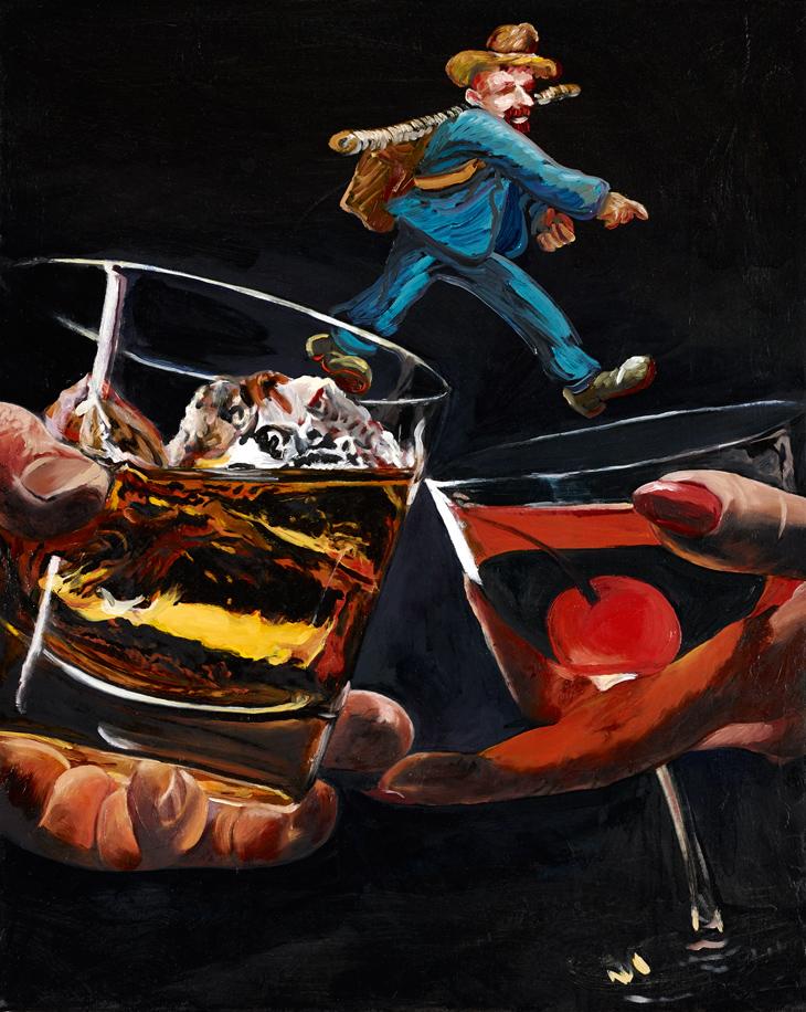 "That Old Feeling Justin John Greene 2012 Oil on canvas 20"" x 16"""