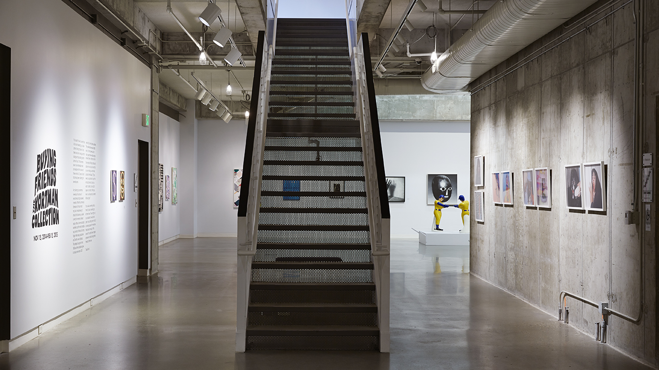 UICA 4th floor staircase buying friends