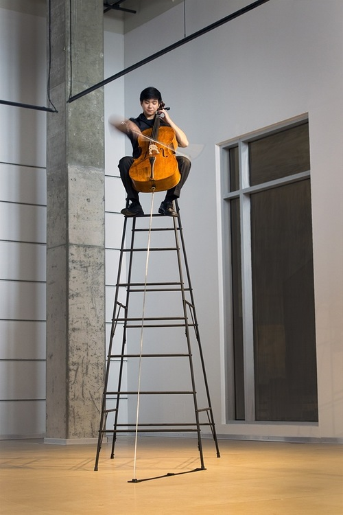 Performance in the UICA Galleries